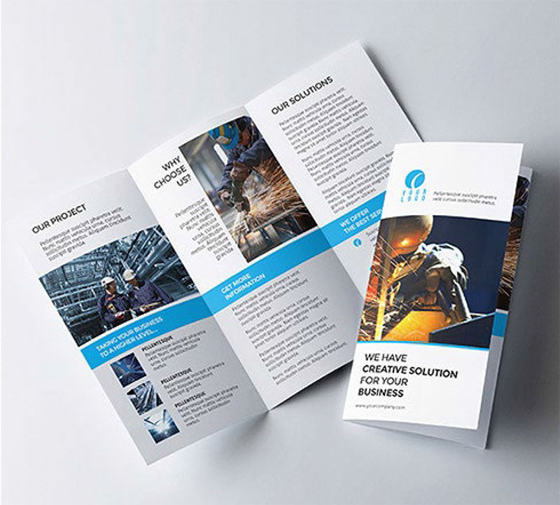 Leaflets design company in hyderabad, india